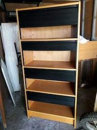 4 sections shelf with doors  Santa Ana, 92703