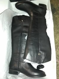 Black boots from Macy's