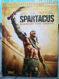 Spartacus Gods of the Arena - the Complete Collect Surrey, V4N 0P3