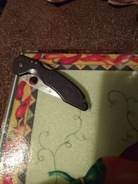 Benchmark folder knife (wasp) made in U.S.A.