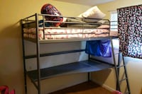 Ikea bunk bed with desk, Excellent Condition! Portland, 97236