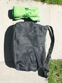 black and green duffel bag Mississauga, L5E 2H9