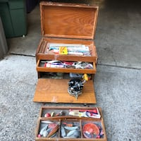 Tackle Box win Penn 66 Reel Portland