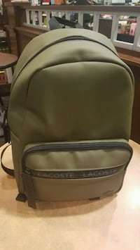 Men's Concept Lacoste Lettering Backpack , Green Owings Mills