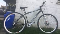 black and gray hardtail mountain bike Damascus, 20872