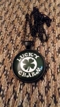 STAINLESS STEEL LUCKY CHARM NECKLACE