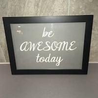"TAVLA ""BE AWESOME TODAY"" Norsborg, 145 51"