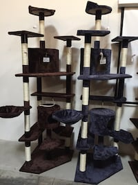 New in box large 7 feet tall cat tree scratching post scratcher pet furniture 2265 mi