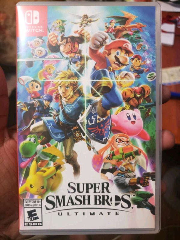 Smash bros for Nintendo switch  f4aee305-8007-4674-b8b2-e58611ce7e7b