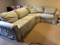 Cozy Pottery Barn sofa couch sectional Palos Heights, 60463