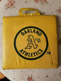 Oakland A's Seat Pad Riverbank