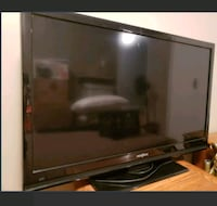 "black 39"" Insignia flat screen TV, no remote  Kitchener, N2M 2K6"