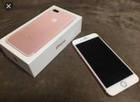 Rose gull iphone 7 pluss selges Skaun, 7357
