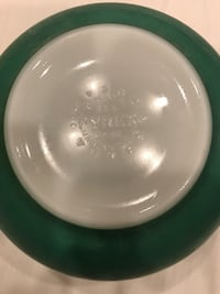 Vintage Pyrex Green Bowl #403