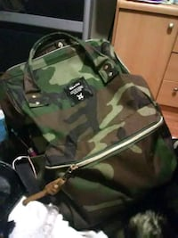 green and black camouflage backpack Calgary, T2A 3W2