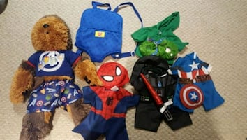 Build a bear Chewbacca & accessories