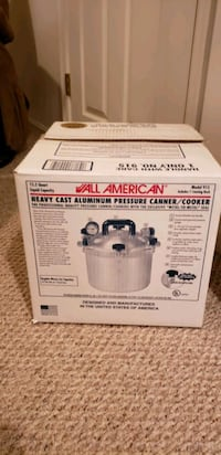 Heavy duty cast iron pressure/canner cooker Bolivar, 25425