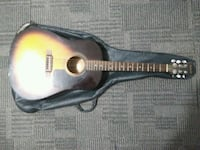 black and red acoustic guitar Toronto, M1P 1G5