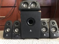 5.1 SURROUND SOUND SYSTEM WITH SUBWOOFER  Los Angeles, 91606
