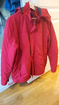 winter jacket - Red color XL size Oslo, 0188
