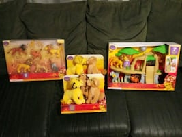 Walt Disney Lion King collection