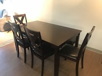 Table Set with 4 Chairs and Bench Marina Del Rey, 90292