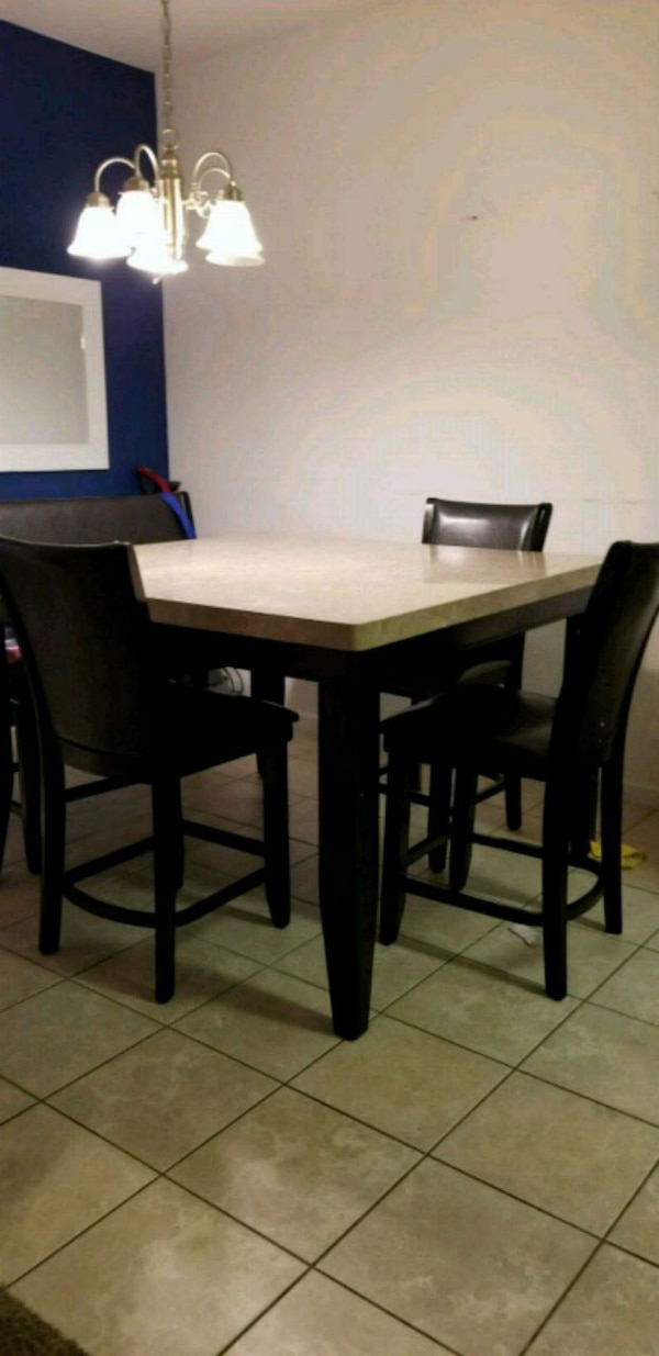Used Marble Dining Table For Sale In Visalia Letgo - Used marble dining table