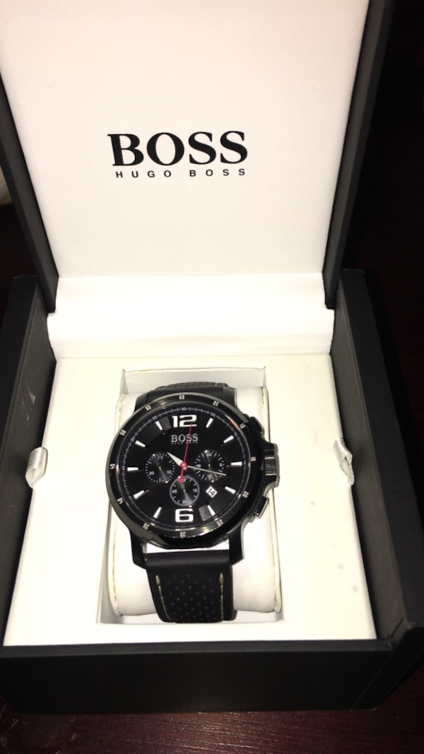 Hugo Boss black watch