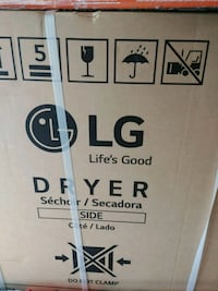LG 7.3 Cu 8 Cycle Electric Dryer Annandale