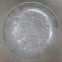 round clear cut glass bowl Lancaster, 93534