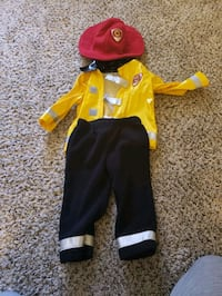 18 Month Old Fire Fighter Costume