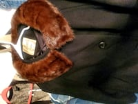 VINTAGE WOOL COAT WITH MINK COLLAR  XL WILL INCLUDE MINK HAT Charlotte, 28269