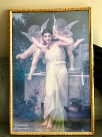 ANGEL PICTURE. Gold custom frame. In great condition Winnipeg, R3P 2R5