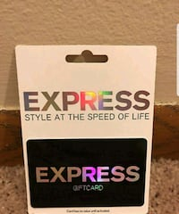 Express gift card $108 on it Bayport