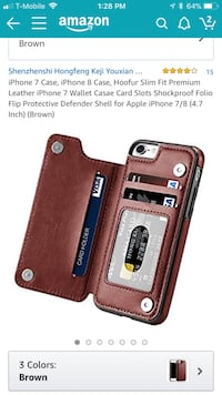 Brown leather wallet phone case screenshot Brookhaven, 11763