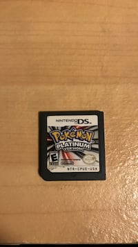 Pokémon platinum for ds