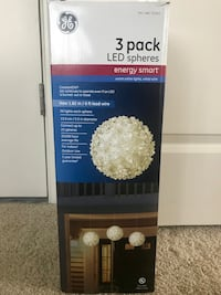 3 Pack Led Spheres Washington, 20001