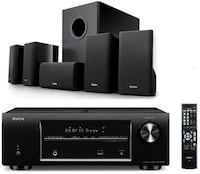black and gray home theater system SINGAPORE