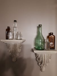 Wall Sconces and Antique Bottles  Melbourne, N0L 1T0