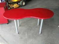 Ikea Red Table / Desk Medicine Hat, T1B 0H7