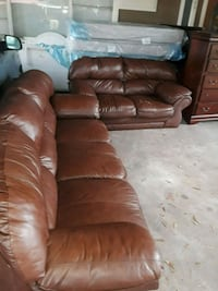 Leather sofa set from ashly furniture  Pasadena, 77506