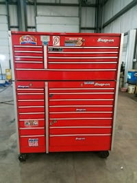 red Snap-On tool cabinet Severn, 21144
