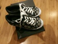 black-and-white Coach low top sneakers Bakersfield, 93304