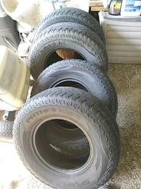 four black auto tire set Roanoke