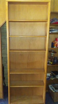 Solid wood bookcases 715 mi