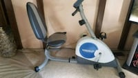 white and blue stationary bike Bedford, 47421
