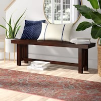 Meridian Wood Dining Bench  Toronto