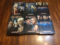 Battlestar Galactica series on DVD (Read description first for detail) North Vancouver, V7P 1S3