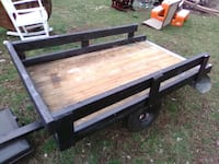 utility trailer for pulling behind lawn mower or 4 Wheeler