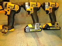 DeWalt cordless hand drill and impact wrench Odessa, 33556